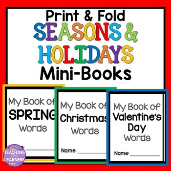 Seasons and Holidays Mini-Books