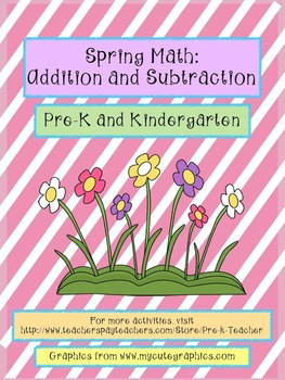 Spring Math- Addition and Subtraction