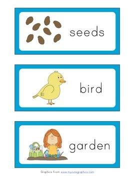 Pre-K and Kindergarten: Spring Words