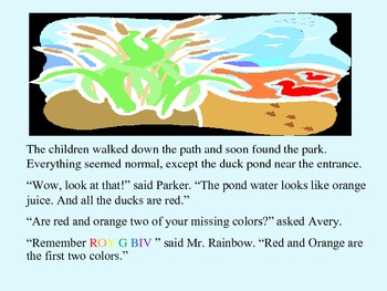Pre-K and Kindergarten Story Sample - reading unit