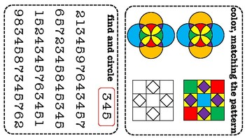 Pre-K and Kindergarten math and logic pack.
