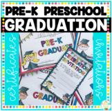 Pre-K and Preschool Graduation Certificates & Invitations