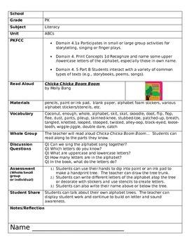 Pre K lesson plans and worksheets for School, Family, Patt