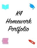 Pre K portfolio covers