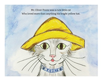Oliver Poons and the Bright Yellow Hat: Pre-K - Grade 2 Literature/Poetry