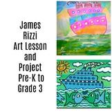 Pre-K to 3rd Art Lesson James Rizzi Boats Contemporary Art