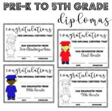 Pre-K to 5th Grade Diplomas