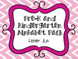 Pre-K/Kindergarten Alphabet Pack - Letter A
