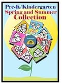 Pre-K/Kindergarten Spring/Summer Collection-8 Fine Motor Skills Activity Sheets