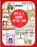 Pre K/Kindergarten Circus Fun!