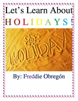 Monthly Holidays as Celebrations