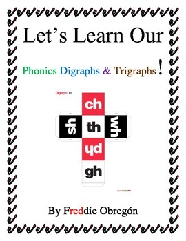 Phonics Digraphs & a Tripgraph