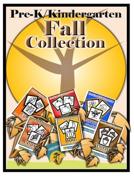 Pre-K/Kindergarten Fall Collection-6 Fine Motor Skills Activity Sheets