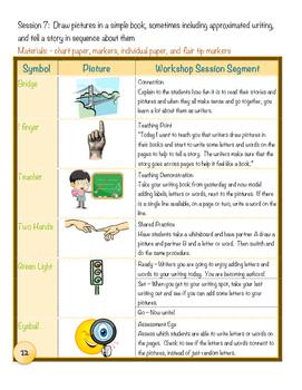 Pre-Kindergarten / 4K Narrative Writing Unit of Study