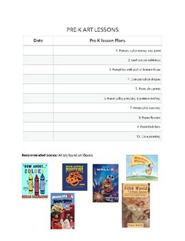 Pre-Kindergarten Art Curriculum