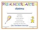 Pre-Kindergarten Diploma - Dr.Seuss
