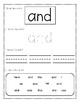 Pre-Kindergarten Dolch Sight Word Activity Sheets