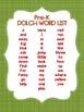 Pre-Kindergarten Dolch Sight Word Flashcards Apple theme