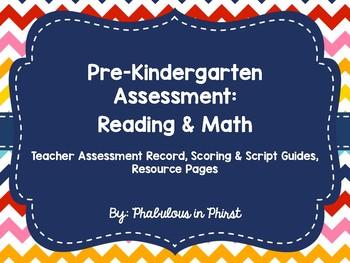 Pre-Kindergarten Entry Assessment