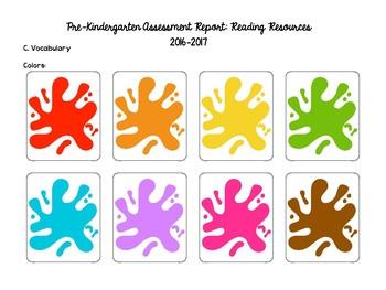 Pre-Kindergarten Entry Assessment (READING ONLY)