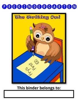 Pre-Kindergarten High Frequency and Sight Words (Fry's First 100 words)