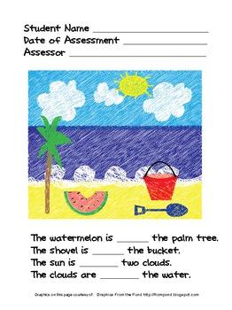Pre-Kindergarten Math Assessment