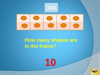 Pre Kindergarten Math Skills Review Game A