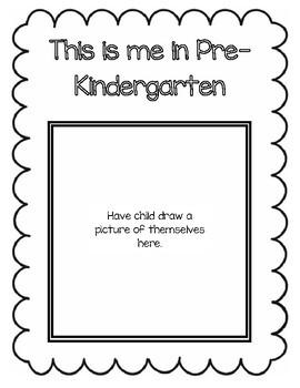 Pre-Kindergarten Memory Book