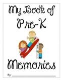 Pre-Kindergarten Memory Book - FREEBIE