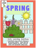 Pre-Kindergarten Spring Literacy and Math Lesson Plans