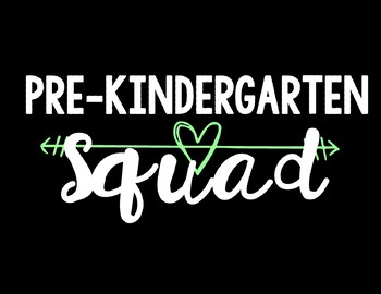 Pre-Kindergarten Squad Background