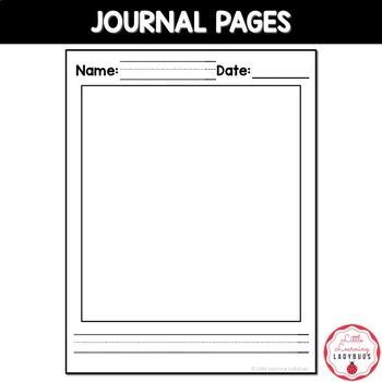 Pre-Kindergarten Writing Journal