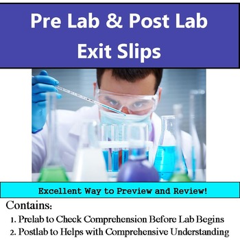 Pre Lab & Reflection Exit Slips