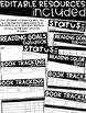 Pre-Made & Editable Reading Goals Pack