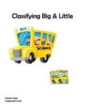 Pre-Math: Classification of Big & Little - Pre-K/Special E
