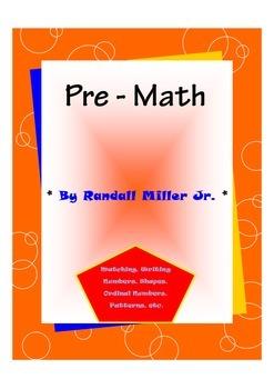 Pre - Math Worksheets