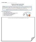 TC Pre & Post On Demand Writing Assessment: Narrative Writing
