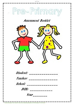 Pre Primary Assessment Booklet