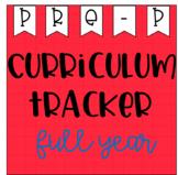 Pre Primary Curriculum Tracker