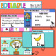 Editable Pre-Primary & Foundation English Warm-ups Australian Distance Learning