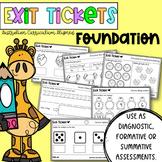 Pre-Primary / Foundation Exit Tickets - Australian Curricu
