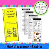 Foundation Math Assessment Booklet (Pre-Primary - Australian Curriculum)