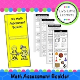 Foundation Math Assessment Booklet (Pre-Primary - Australi