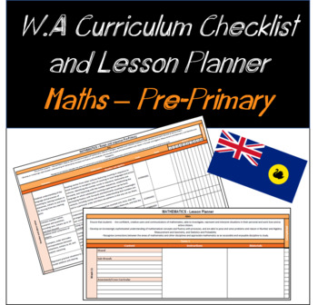 Pre-Primary Mathematics Western Australian Curriculum Checklist and Planner