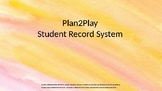 Pre-Primary Student Record System