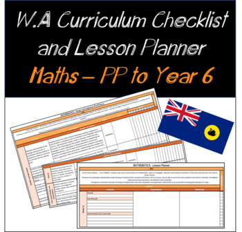 Pre-Primary to Year 6 Mathematics Western Australian Curriculum Bundle