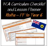 Pre-Primary to Year 6 Mathematics Western Australian Curri