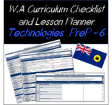 Pre-Primary to Year 6 Technologies Western Australian Curr