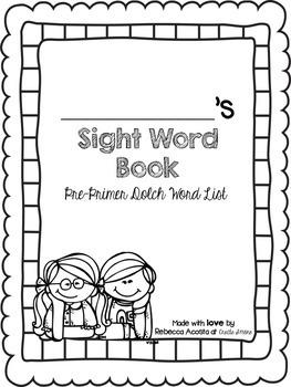 Pre-Primer-3rd Grade Sight Word Book Bundle (Dolch)