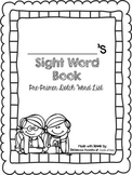 Pre-Primer-3rd Grade Sight Word Book Bundle (Dolch)